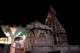 dwarka_temple_de_nuit