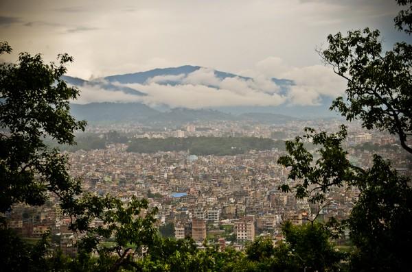 vue sur Katmandou